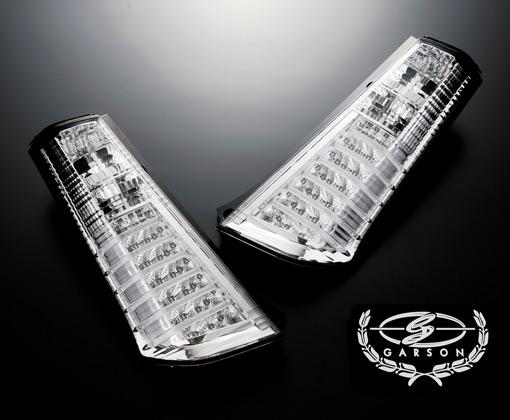 【代引き不可】 ギャルソン クリアテールレンズ 【LED】 type-2 MH23S ワゴンR GE012-06