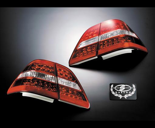 【代引き不可】 ギャルソン クリスタル&レッドテールレンズ 【LED】 UCF3# セルシオ 前期専用 GE012-34