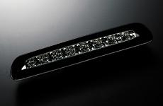 【代引き不可】 ギャルソン LED ハイマウントストップランプ KDH/TRH2## ハイエース(前期/後期共通)※~H24/4月車まで対応【レンズカラー:スモーク】  GE011-67
