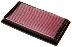 K&N REPLACEMENT FILTER エアフィルター BMW 8 SERIES E31 850i 5.0 E50 91-96 50 12 5000 【33-2059x2個】