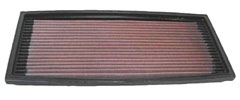 K&N REPLACEMENT FILTER エアフィルター BMW 5 SERIES E34 520i 24V 2.0 HB20 DOHC 90-96 20 6S 2000 【33-2078】