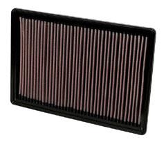 K&N REPLACEMENT FILTER エアフィルター DODGE RAM PICK UP 3.7/4.7/5.7 1500/2500/3500 02- 5.7/4.7/5.7L 【33-2247】