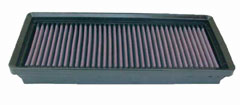 K&N REPLACEMENT FILTER エアフィルター CHRYSLER/JEEP CROSSFIRE 3.2 ZH32C 04-08 112 3200 【33-2290x2個】
