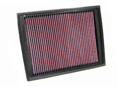 K&N REPLACEMENT FILTER エアフィルター LANDROVER DISCOVERY 3 4.0/4.4 LA40A/LA44 05-09 4000/4400 【33-2333】