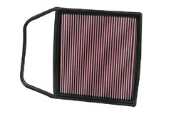 K&N REPLACEMENT FILTER エアフィルター BMW ALPINA E90/E91 B3 BiTurbo 3.0TT 06- 3000 【33-2367】