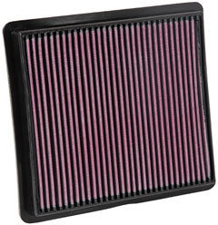 K&N REPLACEMENT FILTER エアフィルター CHRYSLER/JEEP GRAND VOYAGER 3.8 RT38 08-11 【33-2419】