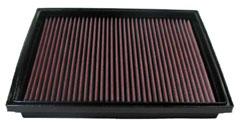 K&N REPLACEMENT FILTER エアフィルター VOLKSWARGEN VANAGON 2.5 (Panel filter) 70ACU 95-97 2500 【33-2759】
