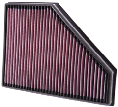 K&N REPLACEMENT FILTER エアフィルター BMW ALPINA E90/E91 D3 2.0DTT Diesel Twin Turbo 09- 2000 【33-2942】