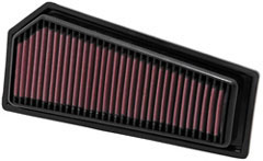K&N REPLACEMENT FILTER エアフィルター MERCEDESBENZ E-CLASS212/207 E250 COUPE CGI 1.8T 207 347 09- 271 1800 【33-2965】