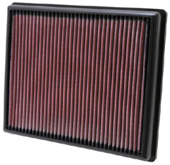 K&N REPLACEMENT FILTER エアフィルター BMW 3 SERIES F30/F31 335i 3.0T KG35 12- N55B30A 【33-2997】