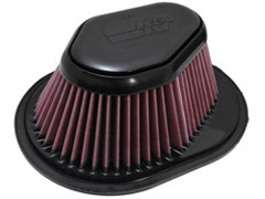 K&N REPLACEMENT FILTER エアフィルター CADILLAC STS 4.4 X295V 06-11 4N 【E-1995】