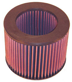 K&N REPLACEMENT FILTER エアフィルター TOYOTA クラウン LS120/126 Diesel 83.08-87.08 2L 2400 【E-2487】
