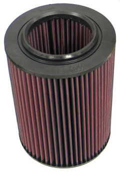 K&N REPLACEMENT FILTER エアフィルター VOLKSWARGEN VANAGON 2.1 (Round filter) 25MV 90-95 2100 【E-9187】