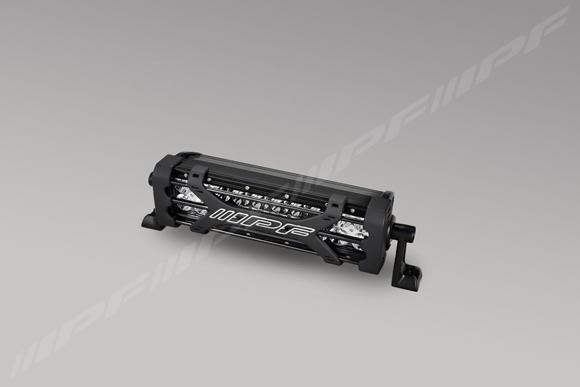 IPF LEDライトバー 10インチ ダブルロー RAIJIN 600シリーズ 6000K 5600lm 【612RJ】 | アイピーエフ LEDバーライト 雷神 ライジン 600series 10INC DOUBLE-ROW フォグランプ バー 6000ケルビン 圧倒的な 明るさ 5600ルーメン 1年保証 ラリー 林道 作業車に おすすめ