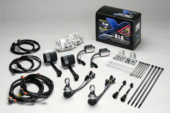 IPF 純正交換 HIDコンバージョンキットSUPER HID X CONVERSION KIT HB3/HB4 6000k 【XD63】