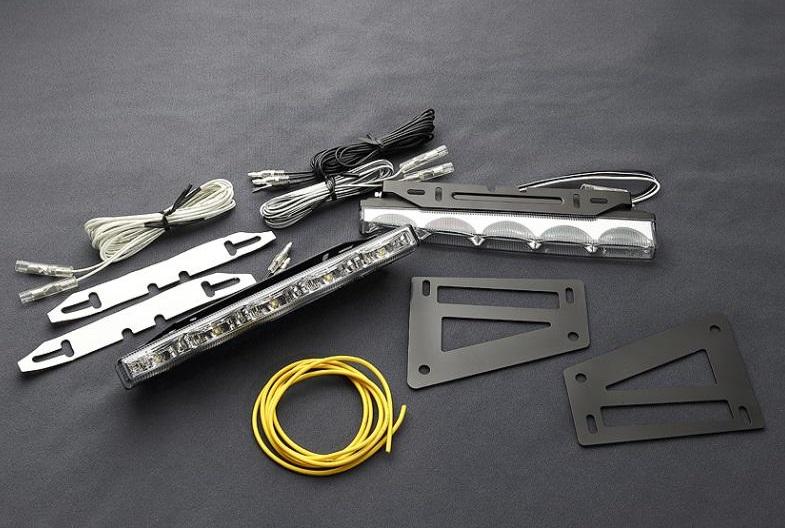 JAOS ジャオス デイランプセット フロントバンパーガードオプション 〔B581329〕 パジェロ V80/90系