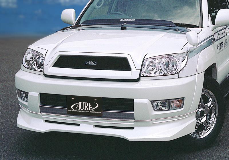 JAOS ジャオス フロントリップスポイラー サーフ 215系〔B022084〕未塗装:白ゲルコート