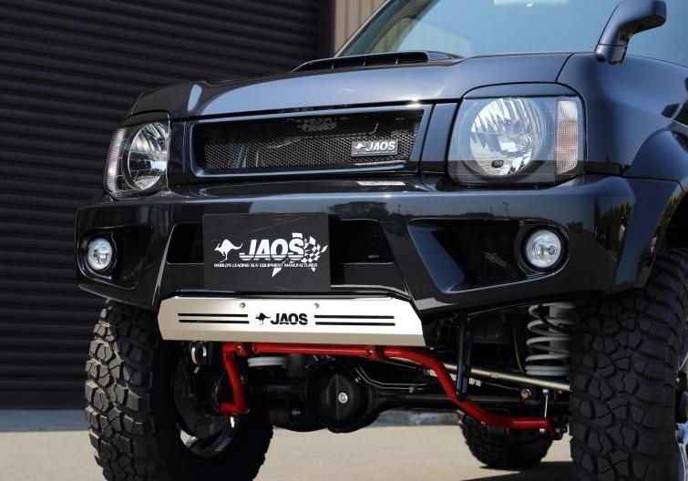 JAOS ジャオス フロントスポーツカウル スズキ ジムニー シエラ JB33/43系【B040517】未塗装:白ゲルコート | SUZUKI JIMNY SIERRA FRONT SPORTS COWL フロントスポイラー エアロ 4WD カスタム