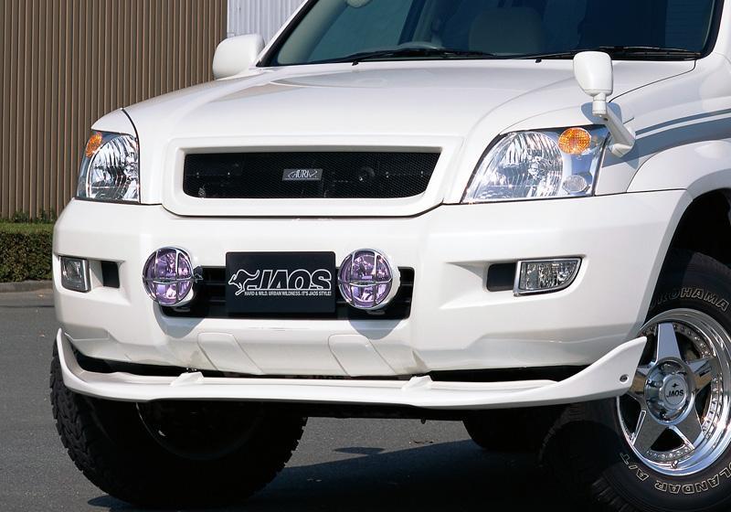 JAOS フロントウイング プラド 120系 【B051063】02.10-09.08 未塗装 白ゲルコート