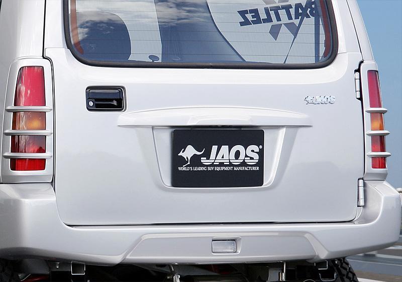 JAOS リヤハッチパネル〔B096512〕ジムニー JB23/33/43系 (未塗装:白ゲルコート)