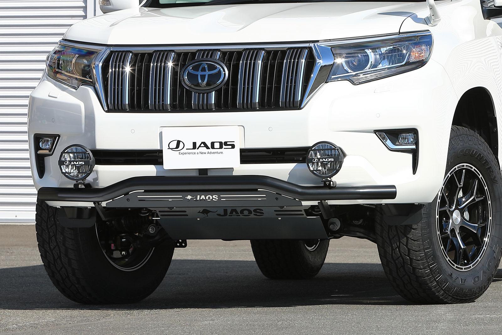 JAOS ジャオス フロントスキッドバー ブラック/ブラック トヨタ プラド 150系 17/09- 適応:ALL【B150067D】