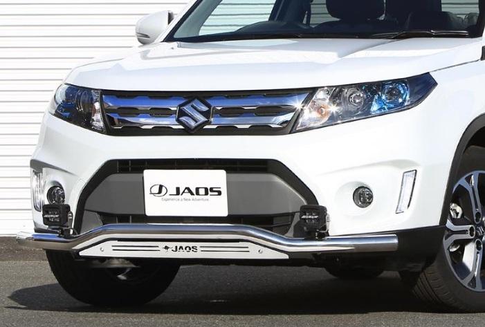 JAOS ジャオス フロントスキッドバー 【B150506A】(ポリッシュ/ブラスト) エスクード Y#21S系