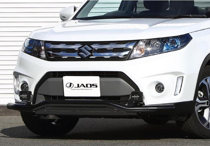 JAOS ジャオス フロントスキッドバー 【B150506D】( ブラック/ブラック) エスクード Y#21S系