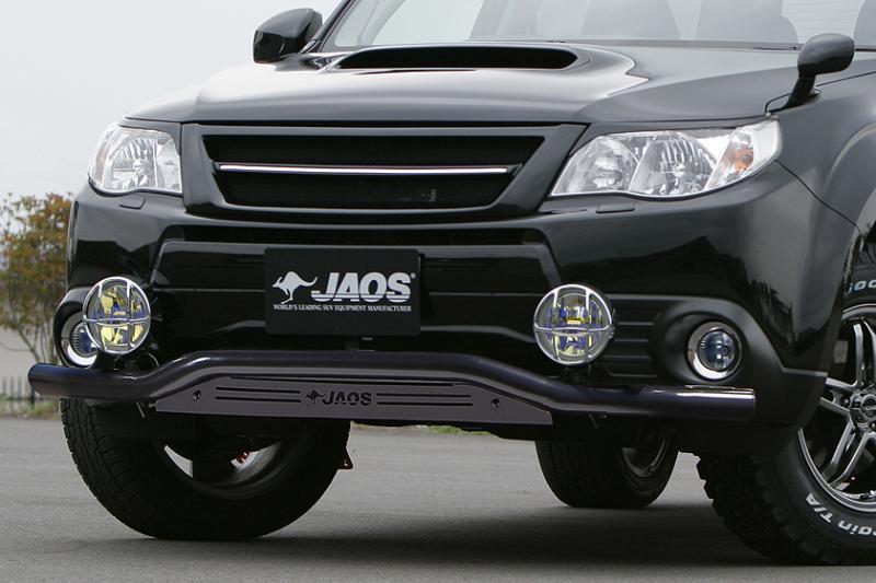 JAOS ジャオス フロントスキッドバー ブラック/ブラック フォレスター SH#系 【B150742D】 07.12-10.09 ALL