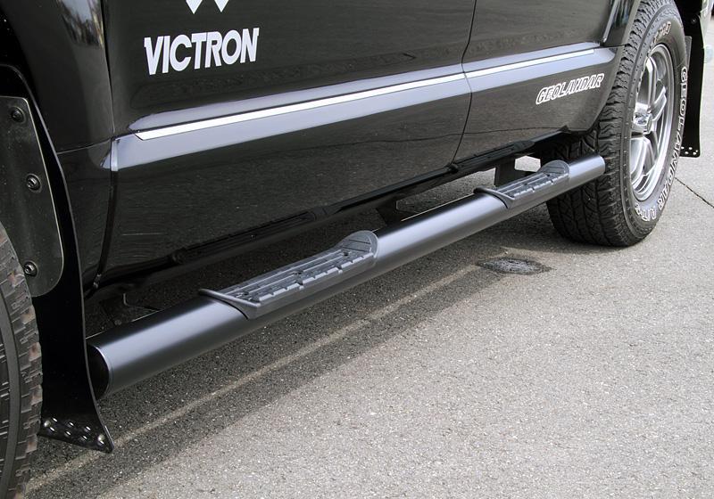 大型商品 配送注意 4WD SUVのパーツ カスタマイズならJAOS ジャオス JAOS 07.01- B172304BK 人気商品 デリカ 新色追加して再販 D:5 ブラックサイドステップ