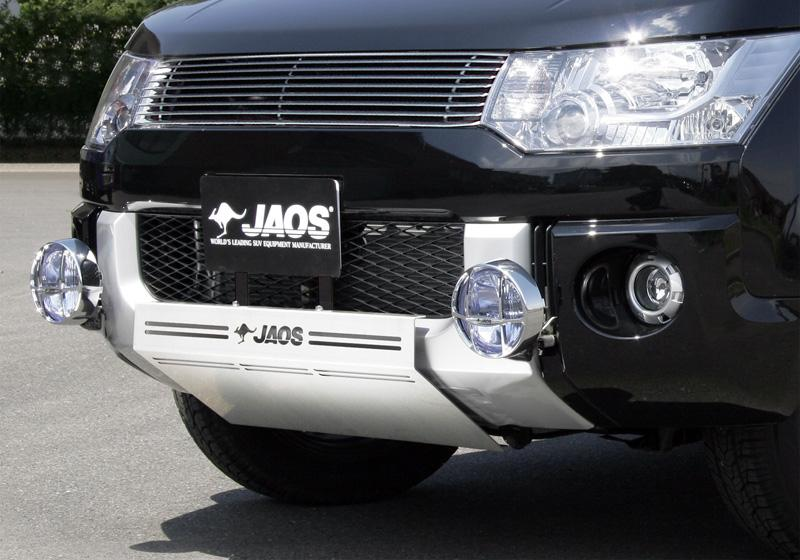 JAOS ジャオス スキッドプレート 3 タイプ B 【B250321】 パジェロ V20/40系