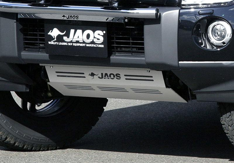 JAOS ジャオス スキッドプレート3 【B250327】 パジェロ V60/70系 パジェロ V80/90系