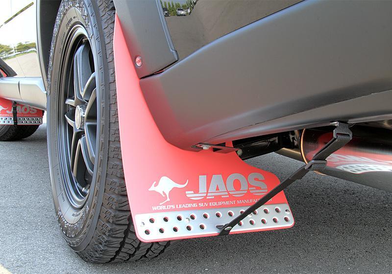 JAOS ジャオス マッドガード3 リヤセット 〔B621442R〕 レッド エクストレイル 31系