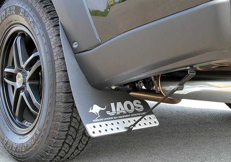 JAOS ジャオス マッドガード3 リヤセット 〔B622442R〕 ブラック エクストレイル 31系
