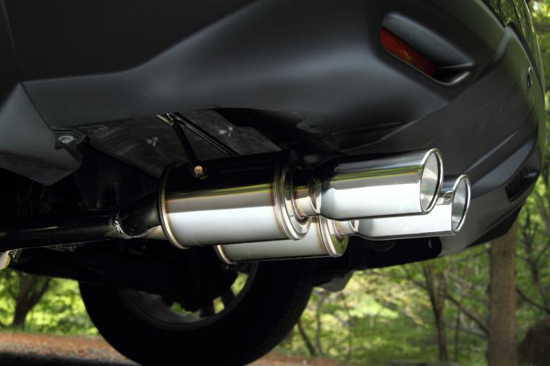 JAOS ジャオス マフラー BATTLEZ×EX typeZS-2 ガソリン車用 エクストレイル 32系 【B701444】 13.12- MR20DD(DBA-NT32/4WD/ガソリン)