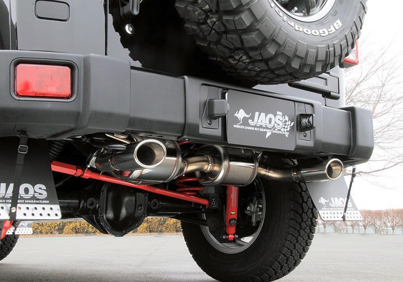 JAOS ジャオス マフラー BATTLEZ×EX typeZS-W JKラングラー 【B701901】 07.03- 2010年4月1日以降車:UNLIMTED(JK38L/JK36L)AT車 2010年3月31日以前車:ALL
