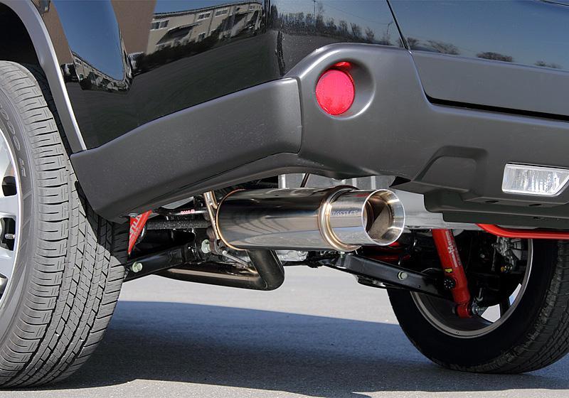 JAOS ジャオス マフラー BATTLEZ×EX typeZS ディーゼル車用 エクストレイル 31系 【B702443】 08.09-