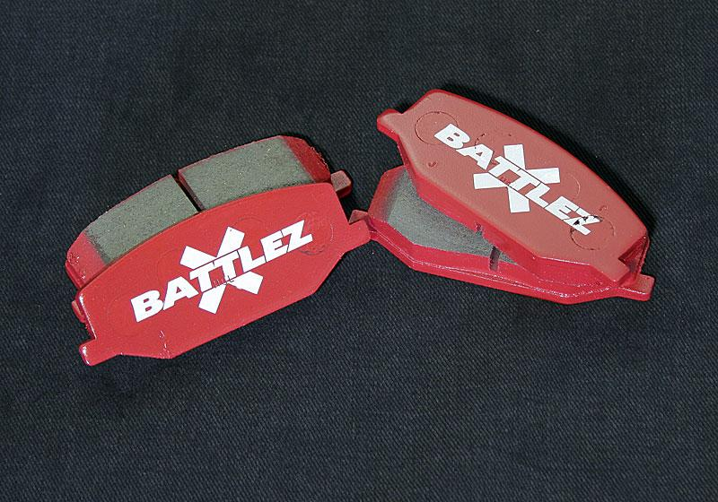 JAOS ブレーキパッド BATTLEZ×BP typeM2 フロント ジムニー JB23/33/43系【B831512F】