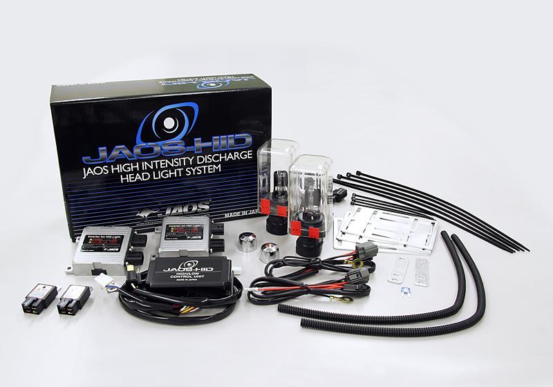 JAOS ジャオス HID 汎用ヘッドライト 2 6000K ブルーホワイト H4DUAL 汎用 〔C552514〕