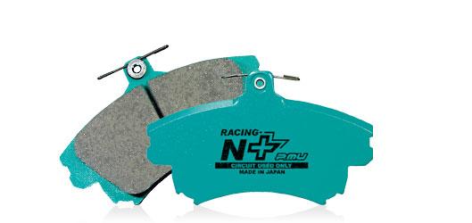 Projectμ プロジェクトミュー ブレーキパッド RACING-N+【F160】 TOYOTA/LEXUS FRONT用