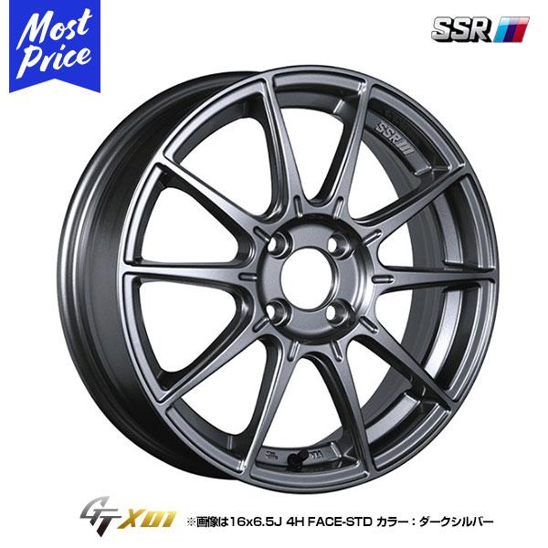 SSR GTX01 ジーティーエックスゼロワン 15インチ 6.0J 45 4-100 STD ホイール1本
