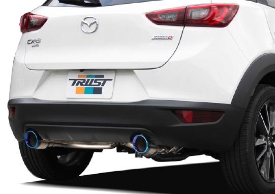 TRUST トラスト GReddy コンフォートスポーツ GT-Sマフラー 【10140719】 MAZDA CX-3 DK5FW用