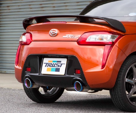 TRUST トラスト GReddy コンフォートスポーツ GT-Sマフラー 〔10170705〕 DAIHATSU コペン LA400K用