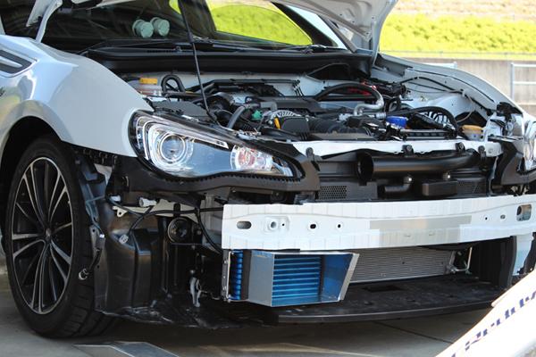 トラスト TRUST GReddy グレッディ オイルクーラーキット STD 10段 標準タイプ トヨタ 86/スバル BRZ 12.03〜16.07 ※導風板なし【12014633】 | TOYOTA ハチロク ZN6 SUBARU BRZ ZC6 OILCOOLER スタンダード