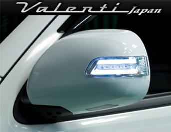 Valenti ヴァレンティ ジュエルLED ドアミラーウインカー ハイエース/レジアスエース 200系専用 未塗装 【DMW-200*-000】