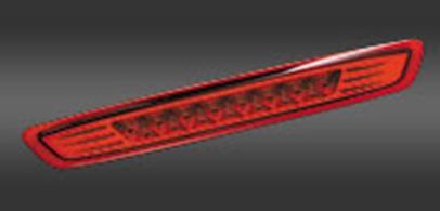 Valenti ヴァレンティ LED ハイマウントストップランプ レッドレンズ/クローム NV350日産キャラバン E26 H24.6~ 【HTNV350-HC-1】