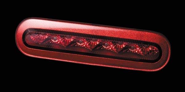 Valenti ヴァレンティ LED ハイマウントストップランプ レッドレンズ/クローム ワゴンR MH34 H24.9~ 【HT34WGR-CR-1】
