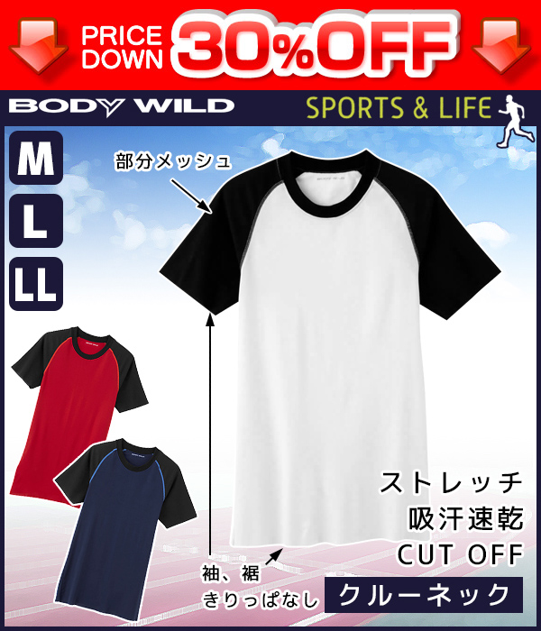 2e88ada068b7 MOTESHITAGI: | made in 30%OFF BODYWILD body Wilde crew neck T-shirt ...