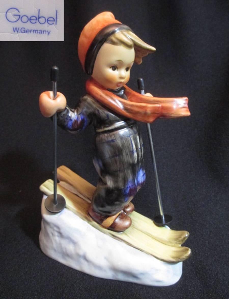 【Hummel】 フンメル人形 Skier