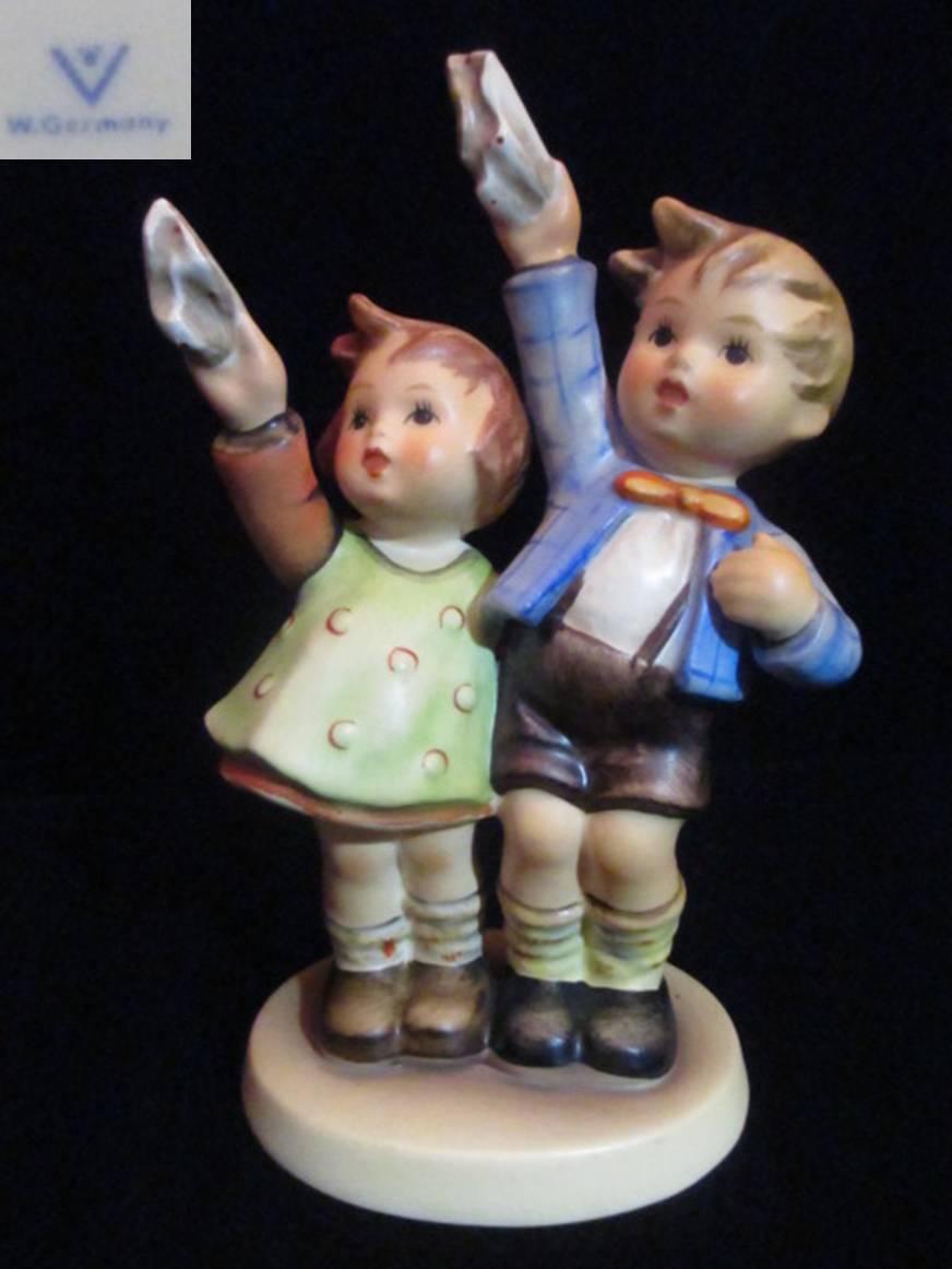 【Hummel】 フンメル人形 Auf Weidersehen