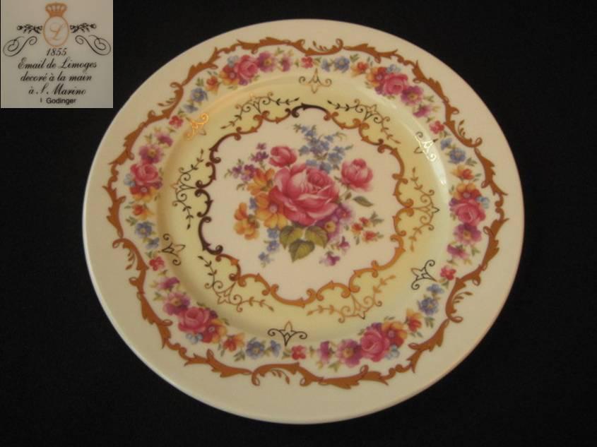 リモージュ 絵皿